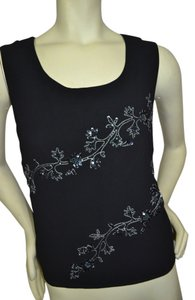R & M Richards Top black