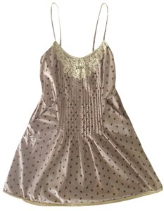Urban Outfitters short dress Lavender floral print Lace Spring Anthropologie on Tradesy