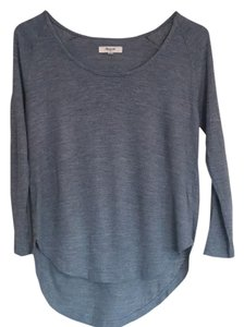 Madewell Casual Soft Comfortable Cotton Flowy T Shirt Heather green