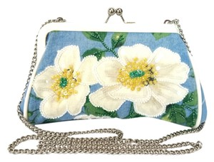 Isabella Fiore Beaded Embroidered Shoulder Bag