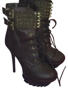 Circus by Sam Edelman Brown w/ gold studs Boots