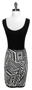 Etcetera Cotton Skirt Black/White