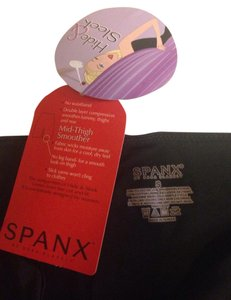 Spanx New with tag spanx hide & sleek slim shapewear mid thigh smoother black