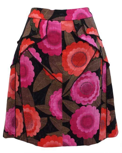 Etcetera Tiered Skirt Floral Print