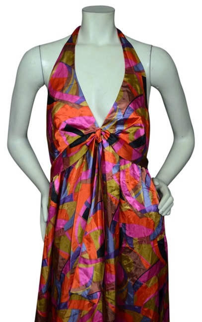 Item - Multicolor Knee Length Casual Maxi Dress Size 8 (M)