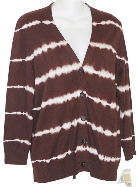 Michael by Michael Kors Tie Dye Cotton Cardigan