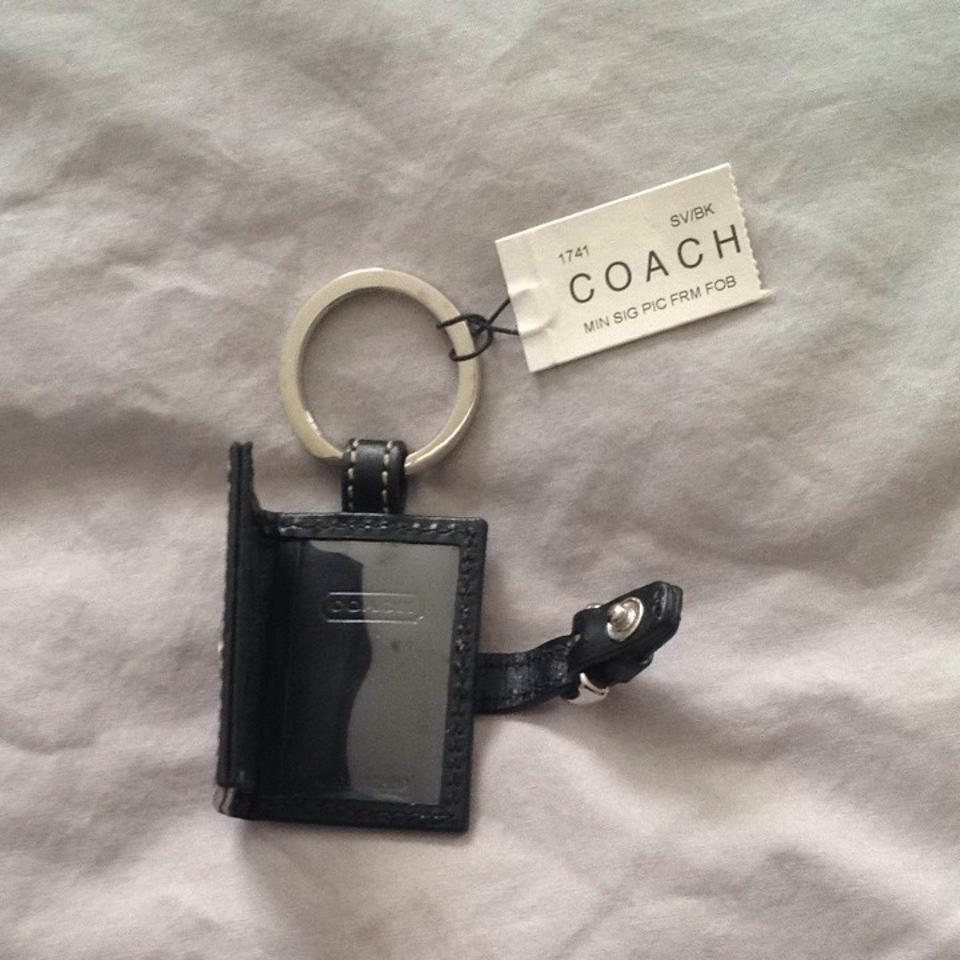 Coach picture frame keychain tradesy coach picture frame keychain jeuxipadfo Image collections
