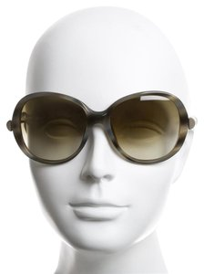 Chloé $400 SUNGLASSES NEW with case and cards CHLOE HORN TORTOISE W/ LUCITE