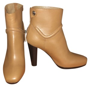 Herms Tan Boots