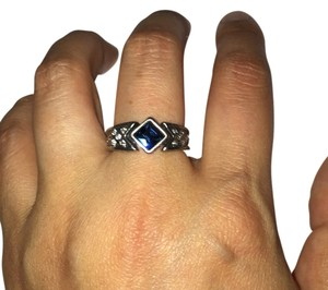 Richard Chai for JewelMint Blue Crystal Ring