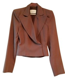 Saint Laurent Ysl Ysl Pants Ysl Suit Brown Jacket