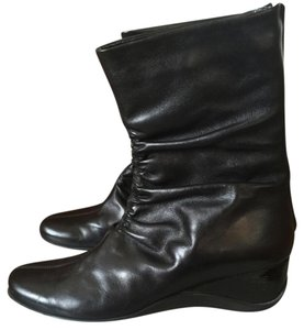 Aquatalia by Marvin K. Perfect Condition Barely Worn black Boots