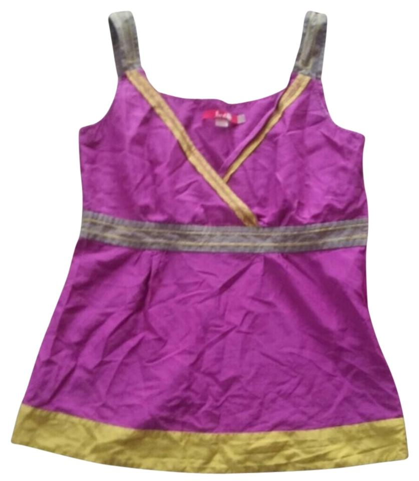 Boden yellow gray top purple for Boden yellow bag