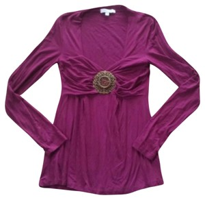 Vertigo Paris Fuchsia Top Purple