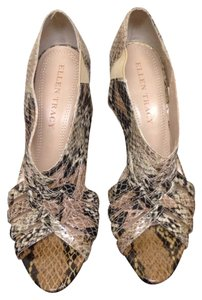 Ellen Tracy Snake Pumps