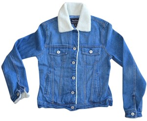 Steeve & Barry's Denim blue Womens Jean Jacket