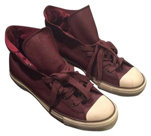 Converse Burgundy/off-white Athletic