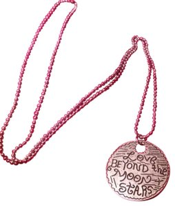 Love Beyond the Moon & Stars Silver Necklace