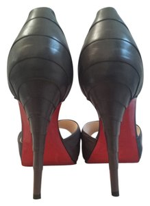 Christian Louboutin Elephant / Grey Pumps