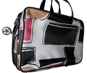 Sonia Kashuk black white Travel Bag