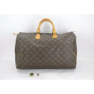 Louis Vuitton Artsy Monogram Leather Grand Chic Satchel in Brown