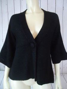 White House | Black Market Sparkle Wool Acrylic Poly Babydoll Chic Sweater