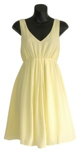 Club Monaco short dress yellow on Tradesy