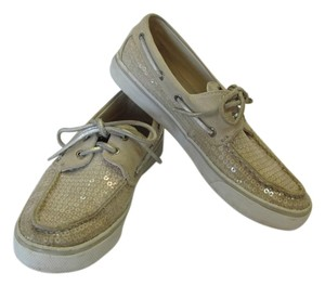 Sperry Size 8.50 M Very Good Condition Neutral Flats