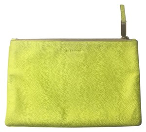 Jil Sander Acid Yellow Clutch