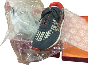 tory burch Fashion Sneakers grey / red Athletic