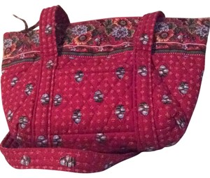 Vera Bradley Satchel in Red