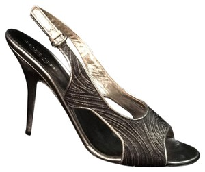 Sergio Rossi Silver/ black Pumps