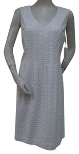 Pendleton Eyelet Sheath Dress