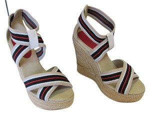 MIA New Size 5.50 M Excellent Condition Neutral, Black, White, Red, Platforms
