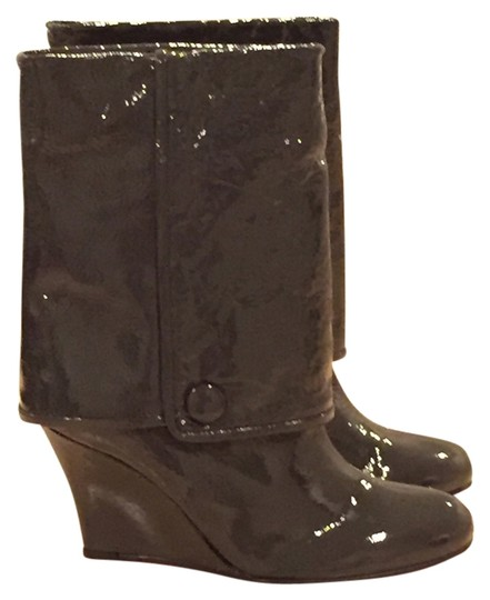 Goldenbleu Made In Italy Carbon Gray Boots