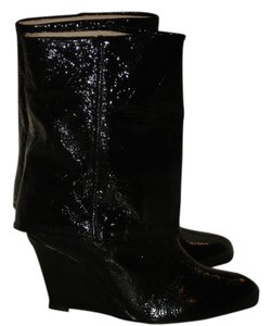 Goldenbleu Made In Italy Black Boots