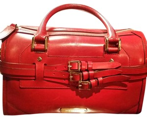 Burberry Satchel in Red