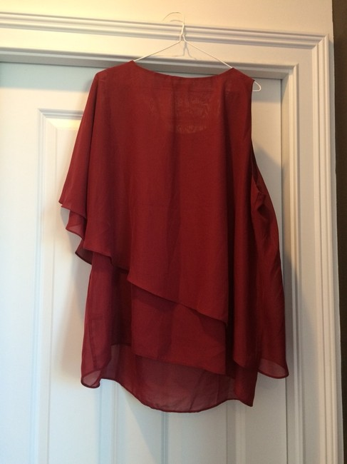 The Limited Top Burgundy