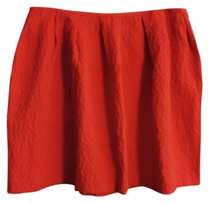 H&M Mini Large Mini Skirt Orange