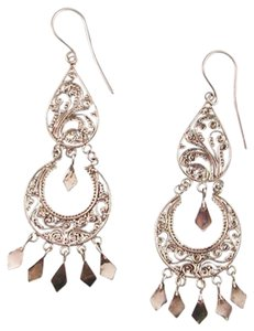 Island Silversmith Island Silversmith Classy .925 Sterling Silver Chandelier Earrings 0201X *FREE SHIPPING*