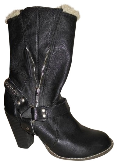 Candie's Man Made black Boots