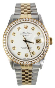 Rolex Automatic 36mm Rolex Datejust Two-tone Stainless Steel and 18k Gold