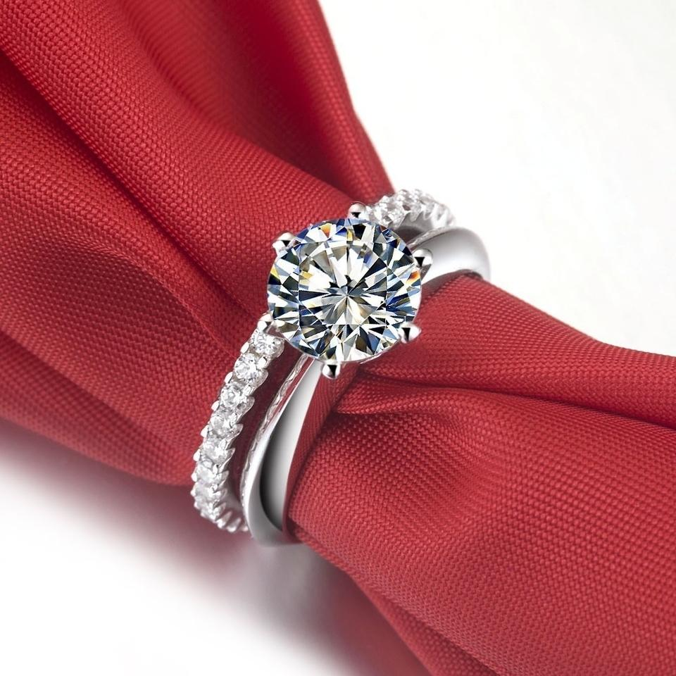 cut radiant solitaire g engagement first bands solitare ring auctions gia rings diamond state