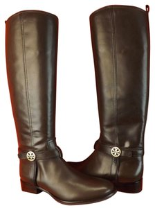 93929f6b8 Tory Burch Brown Boots. Tory Burch Brown Bristol Coconut Leather Gold Reva  Tall Harness Riding Boots Booties ...