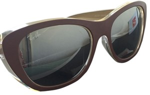Ray-Ban Ray-Ban RB4227 Violet Clear Plastic Cat-eye Women's Sunglasses