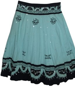 Bernardo Bohemian Cotton Charming Skirt