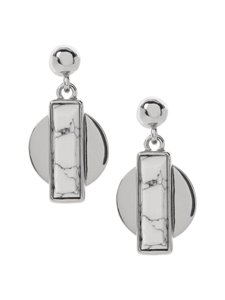Banana Republic Banana Republic Modern Art Drop Earrings