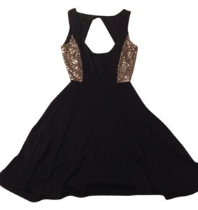 Paint It Red Asos Sexy Skater Sequins Dress