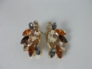 Banana Republic Banana Republic Multi Crystal Cluster Earrings