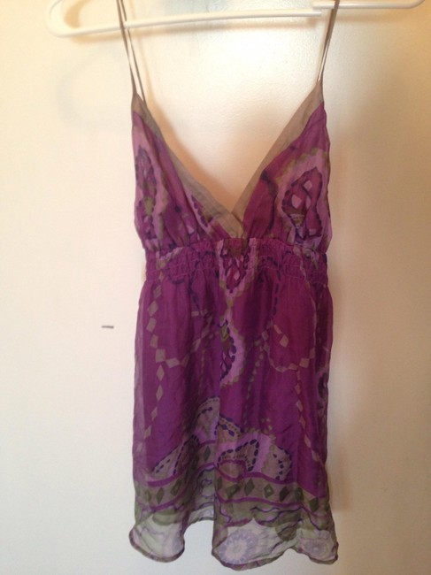Forever 21 Top Purple pattern